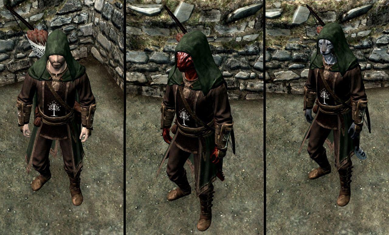 how to make a fur cloak skyrim special edition
