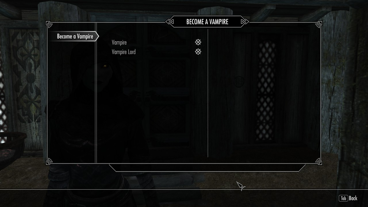 skyrim ps3 how to become a vampire