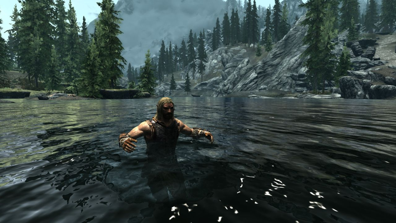 how to become a mermaid in skyrim