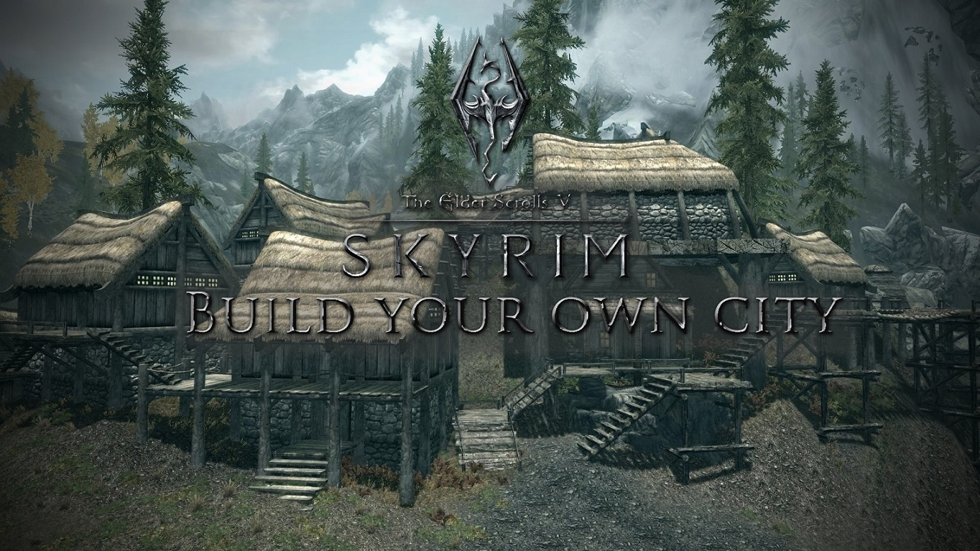 how to install build your own home skyrim