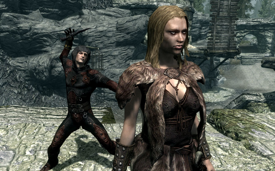 how to get a follower in skyrim