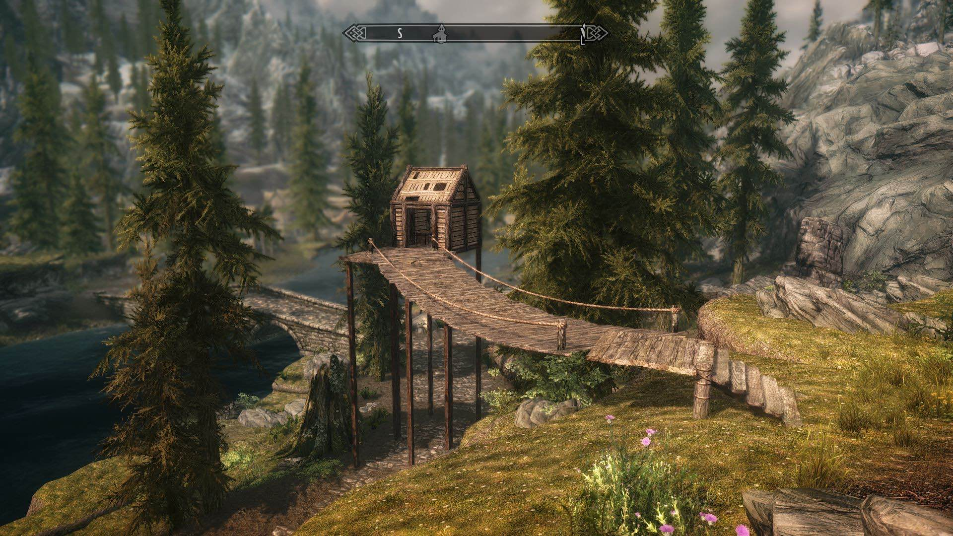 Live Anywhere Constructible Shacks Ɨ�本語化対応 Ů� Skyrim Mod