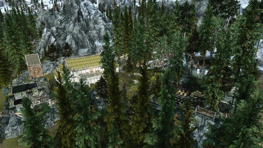 skyrim how to get hearthfire homes