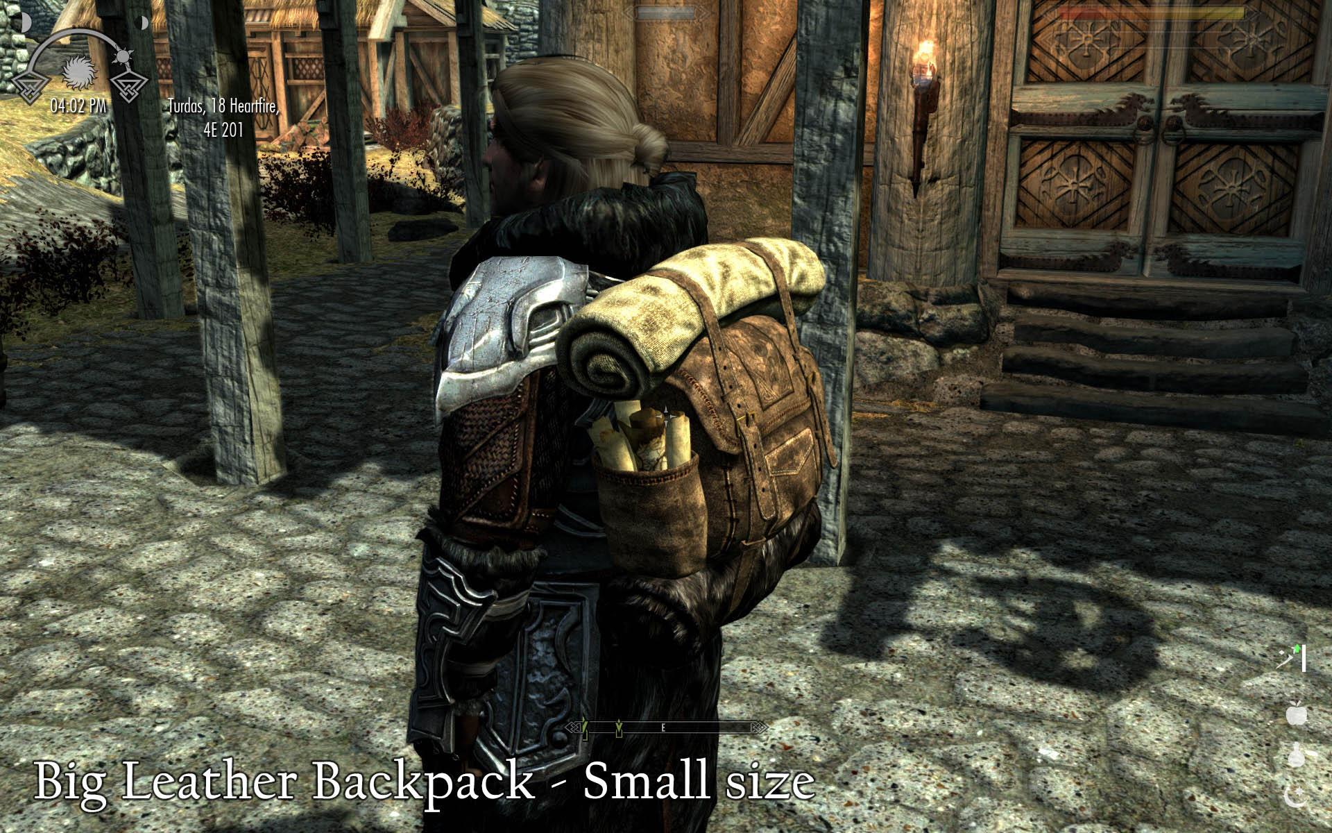 Skyrim Leather Backpack - Crazy Backpacks
