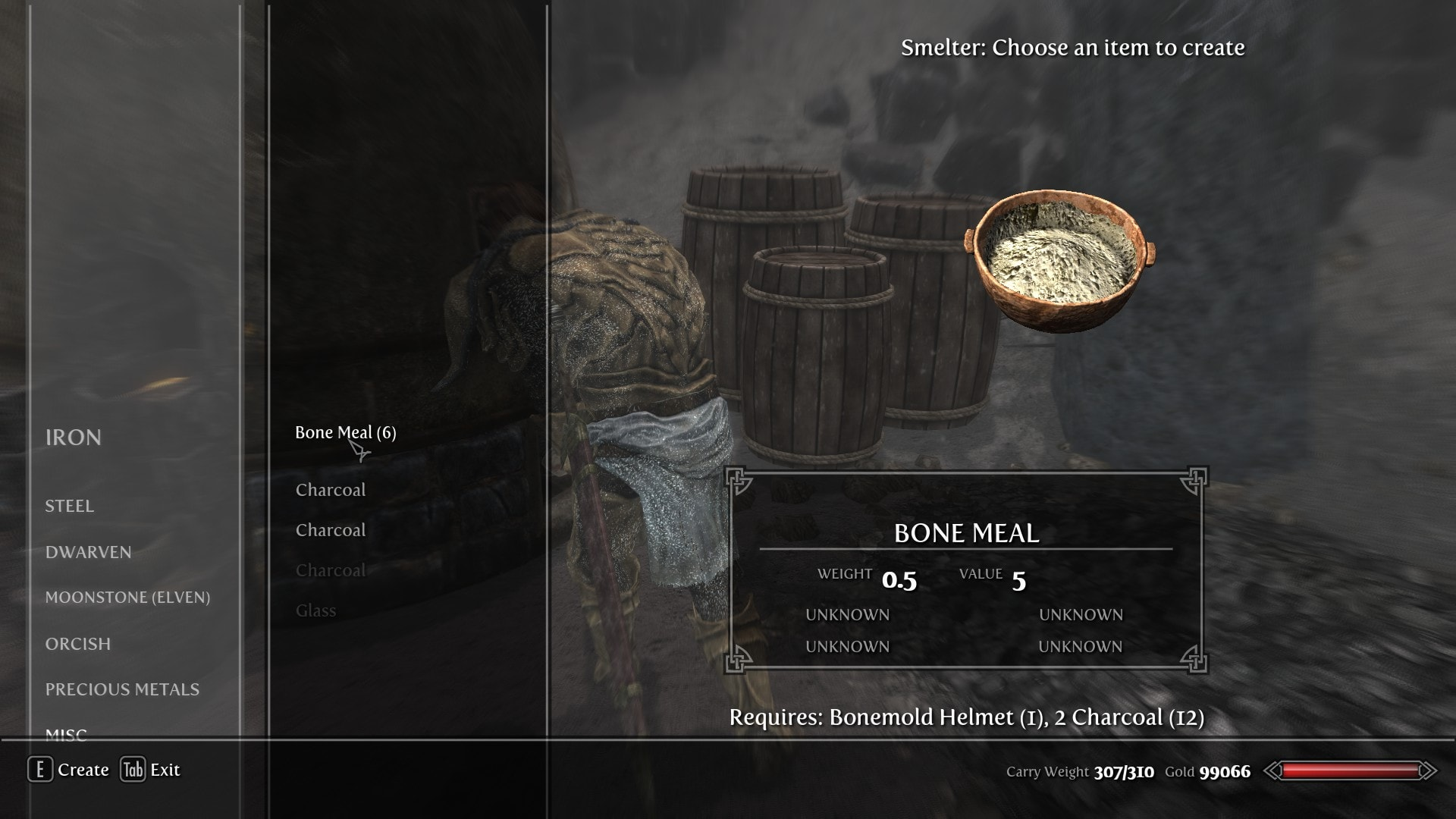 Crafting Mod Skyrim Breakdown Items