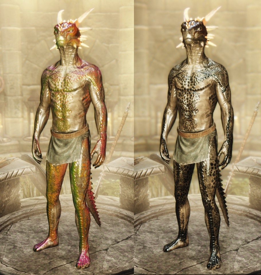 Argonian Cbbe Skin Texture Related Keywords & Suggestions