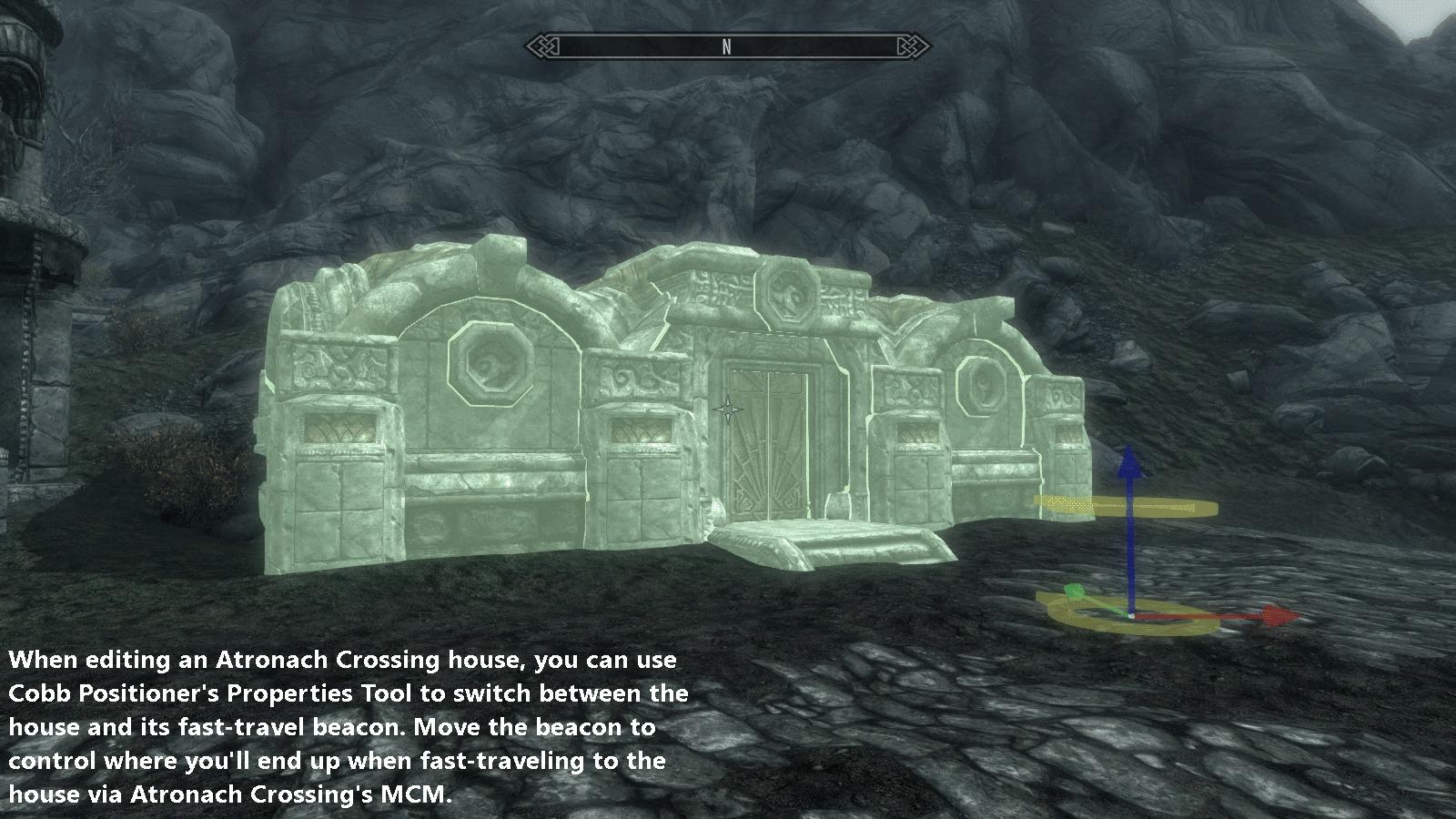 Atronach Crossing Build Your Own Home Skyrim Mod