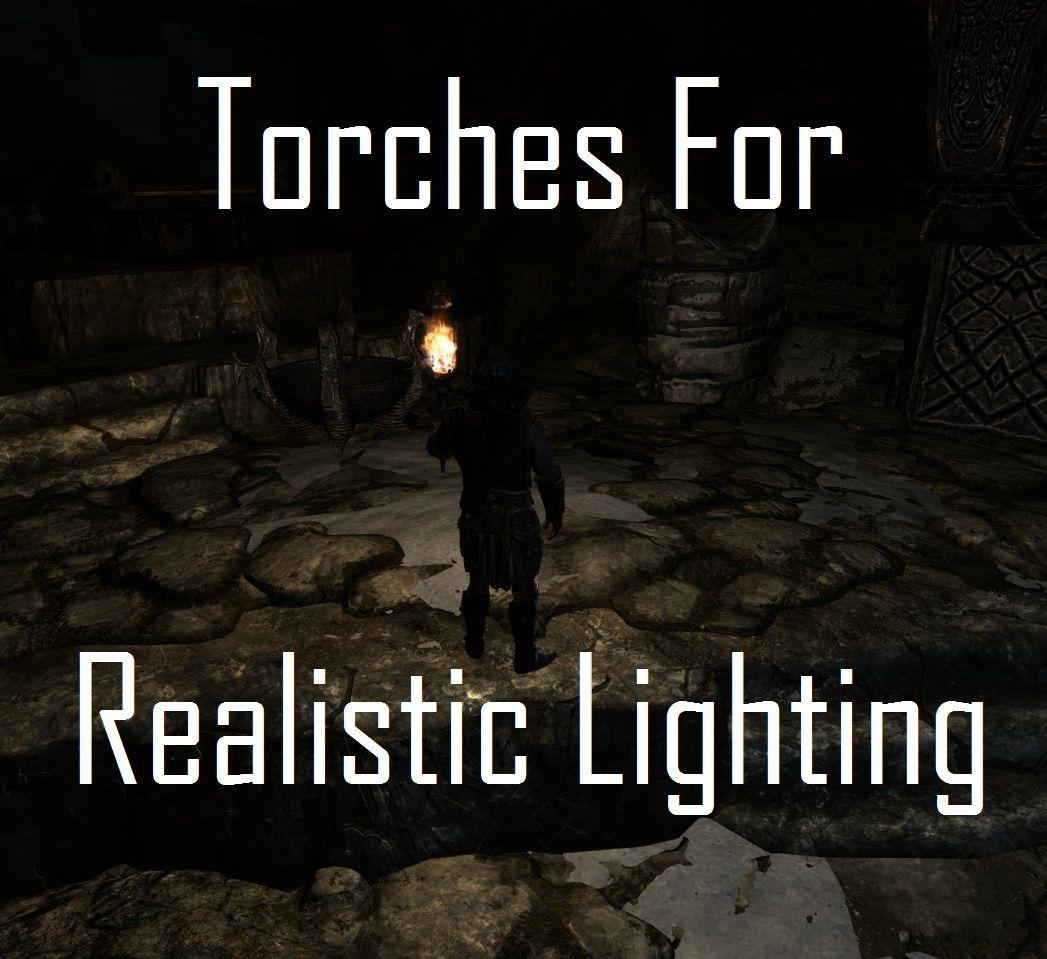 true torches グラフィックス skyrim mod データベース mod紹介