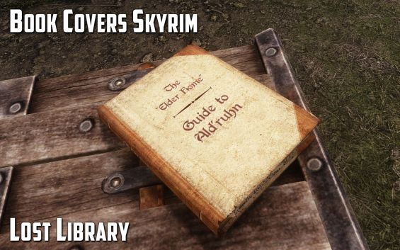 Book Covers Skyrim : Book covers skyrim lost library 日本語化対応 モデル・テクスチャ