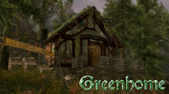 greenhome skyrim mod mod
