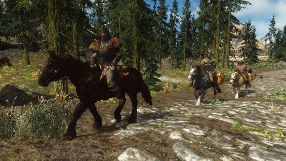 how to get horse skyrim