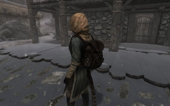 Leather Backpack - Special Edition 服・ローブ - Skyrim Special ...