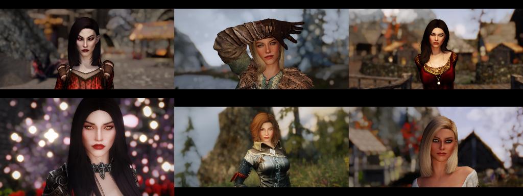 Gozaru Sofie and Lucia Replacer at Skyrim Nexus - mods and