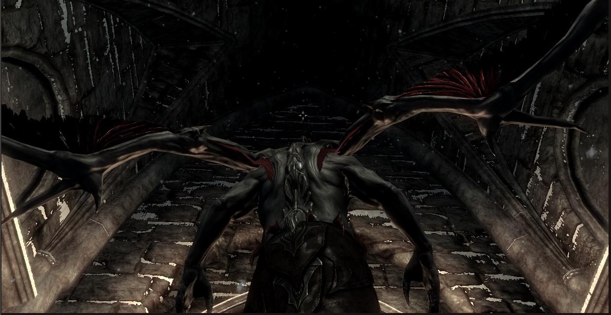 Dark Vampire Lord Retexture モデル・テクスチャ - Skyrim Mod