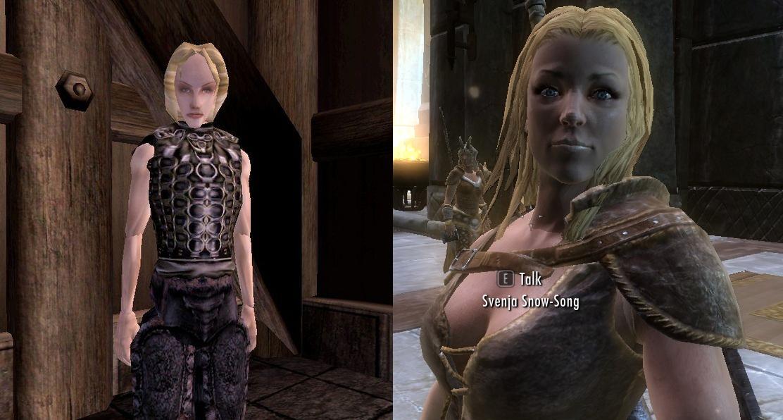More Sovngarde NPCs From Morrowind - Bloodmoon - Oblivion
