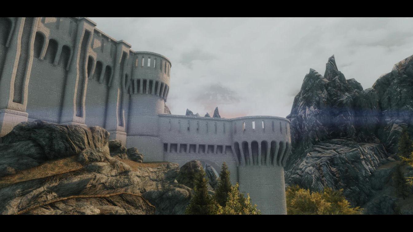 Dawnguard Fortress Improved High Resolution 2k モデル