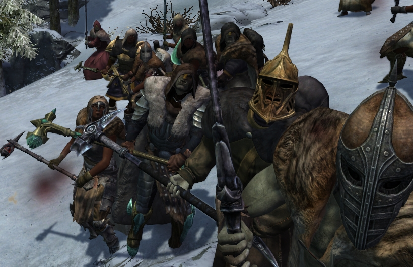 Ragtag Bandits - Optional TERA Weapons Support NPC - Skyrim