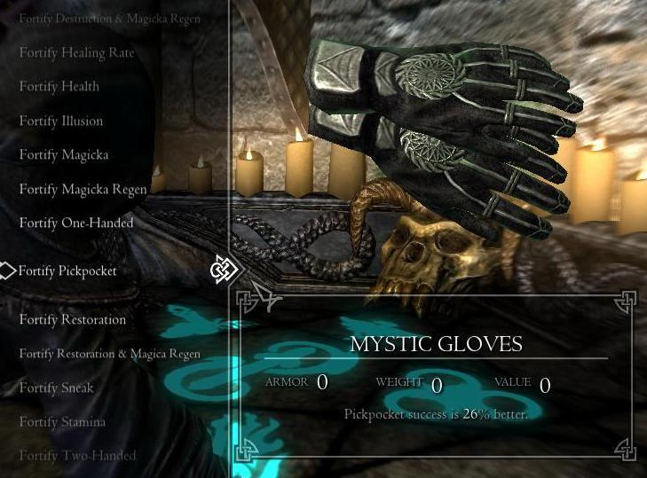 Mystic Gloves 日本語化対応 アイテム - プレイヤー - Skyrim