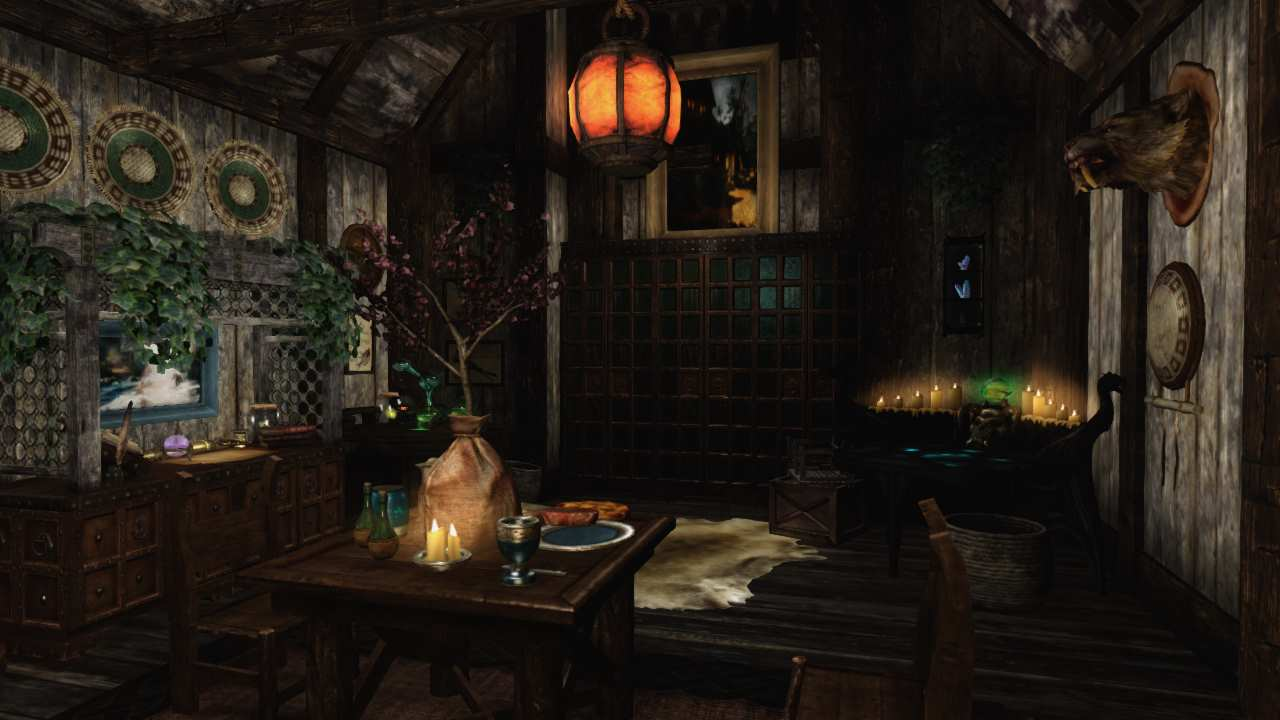 Frost Ivy Glade - Solstheim Player Home 家 - Skyrim Mod