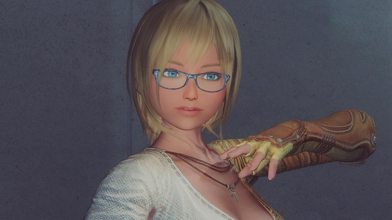 Imomegane Glasses 服ローブ Skyrim Mod データベース Mod紹介