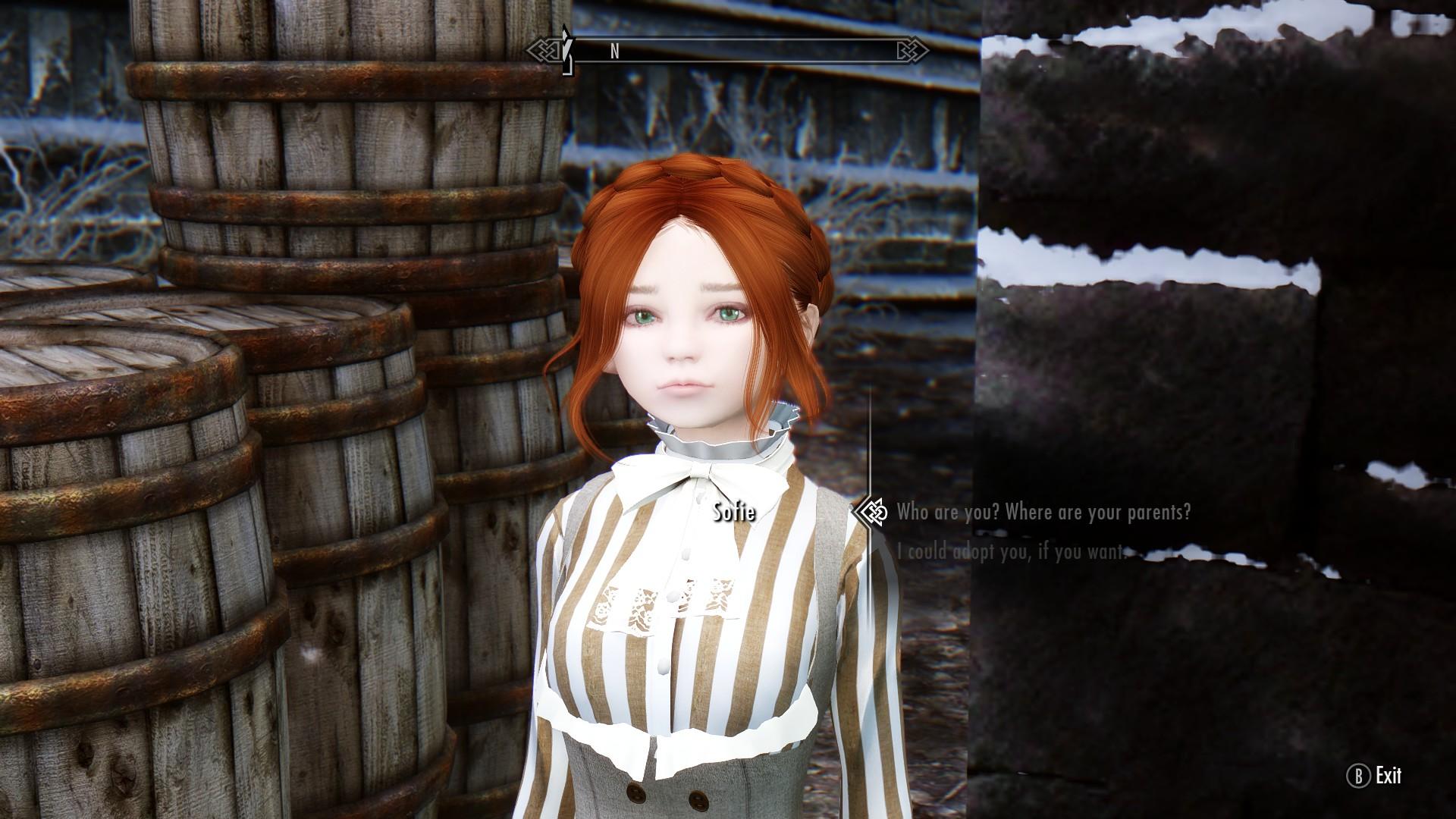 Dolls- children Overhaul NPC - 子供 - Skyrim Mod データベース MOD