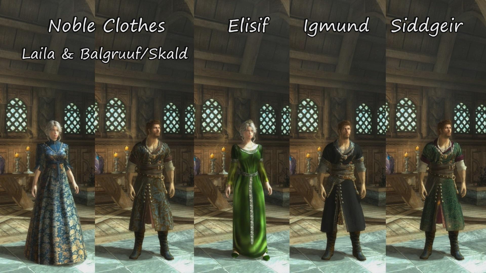 Skyrim fine clothes mod