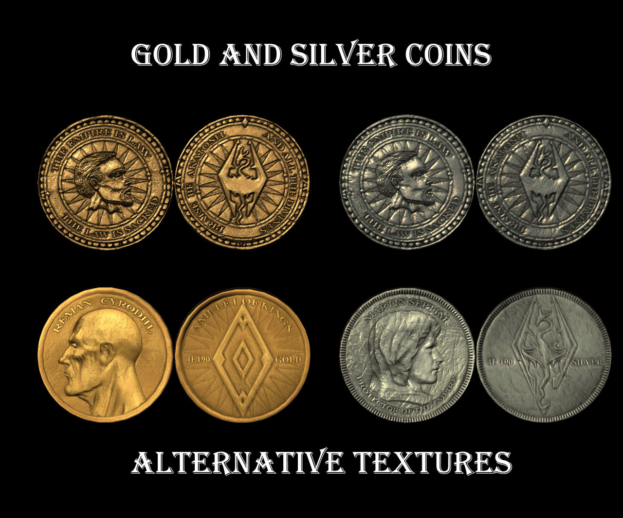 immersive currency gold and silver coins 日本語化対応 イマージョン