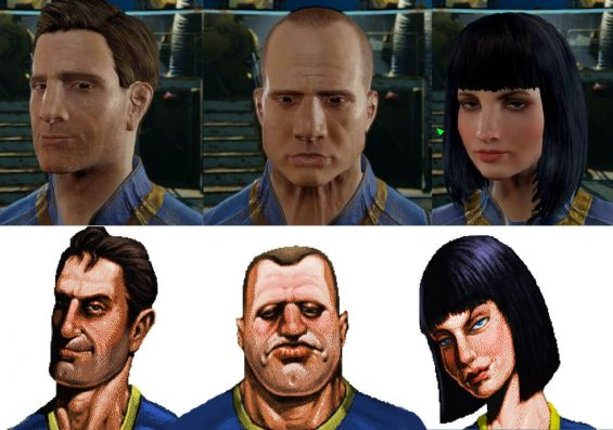 Return of the Vault Dwellers (Fallout 1 Character Presets