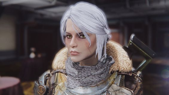 Sole Survivor Ciri , Character Preset Witcher 3 キャラクター