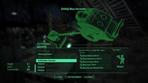 Collection Tools 日本語化対応 ゲームシステム変更 - Fallout4