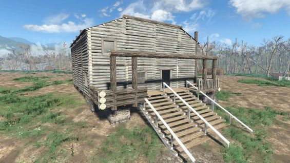 the cabin in the woods 日本語化対応 居住地 fallout4 mod