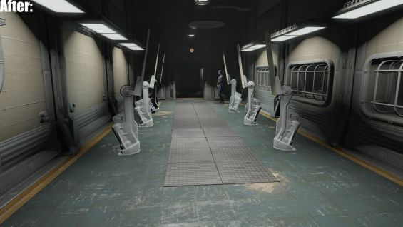 vault 88 entrance lights repaired 天候 光源 fallout4 mod