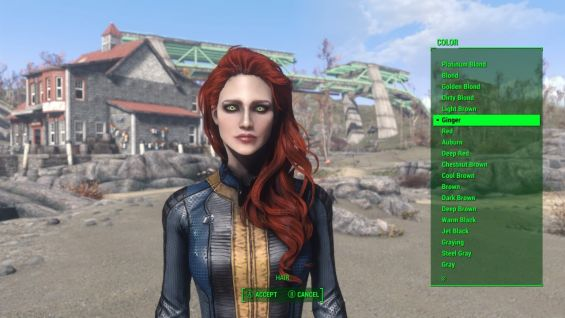 CC's Improved Hair Colors モデル・テクスチャ - Fallout4 Mod