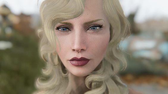 Scarlett Johansson LooksMenu Preset キャラクタープリセット