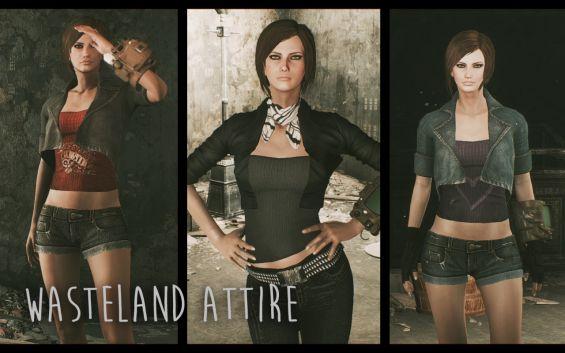 zzjay wasteland attire cbbe 日本語化対応 服 fallout4 mod