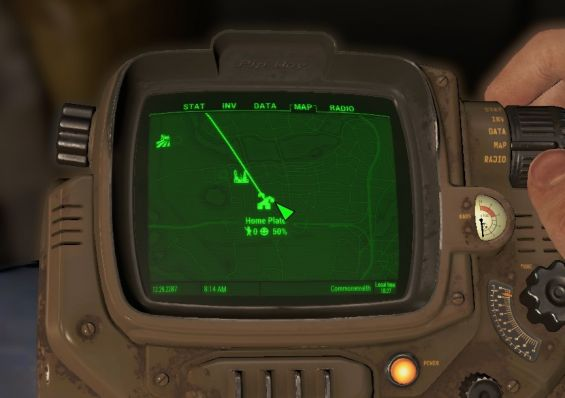 Fallout4 供給 ライン