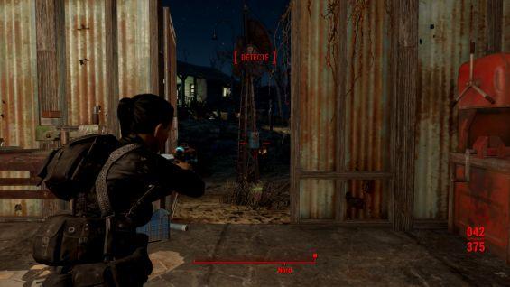 Resident evil 4 like camera ゲームシステム変更 - Fallout4