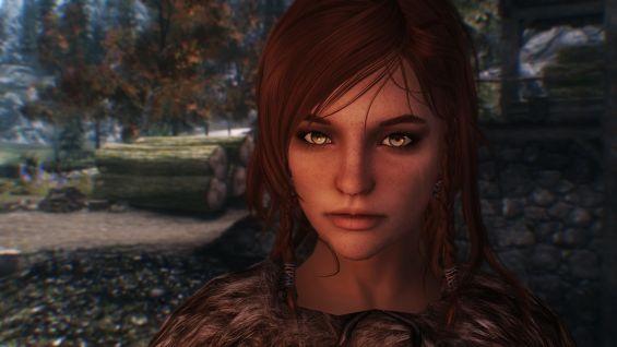 Alvhilde - Nord Werewolf Huntress - Follower Mod フォロワー - Skyrim