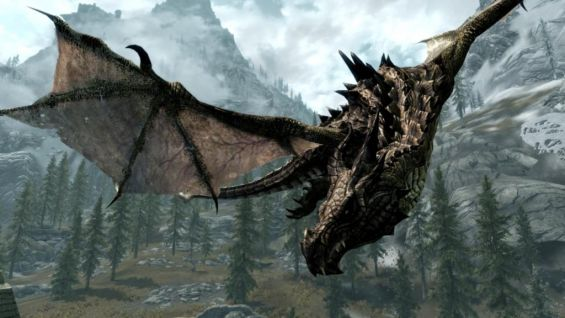 bellyaches hd dragon replacer pack モデル テクスチャ skyrim mod