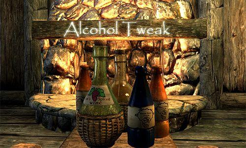 Alcohol Tweak 日本語化対応 ゲームシステム変更 - Skyrim Mod
