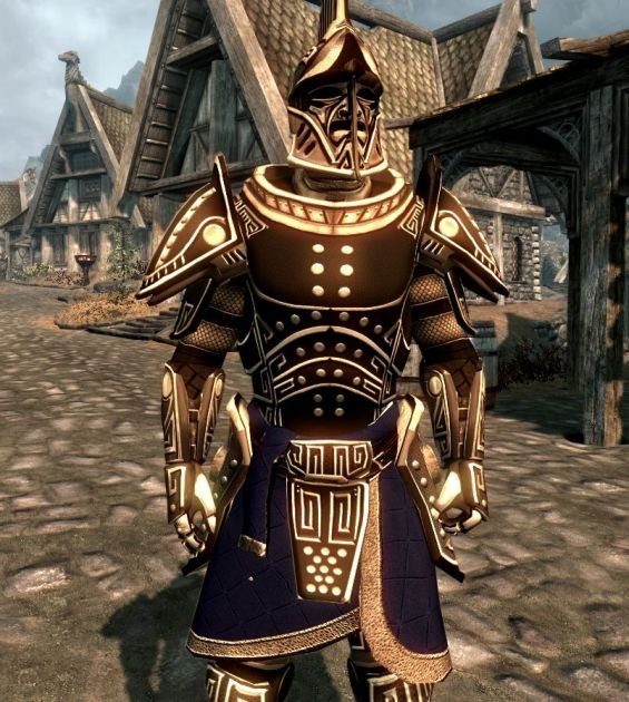 heroic dwarven armor and weapons 武器 防具セット skyrim mod