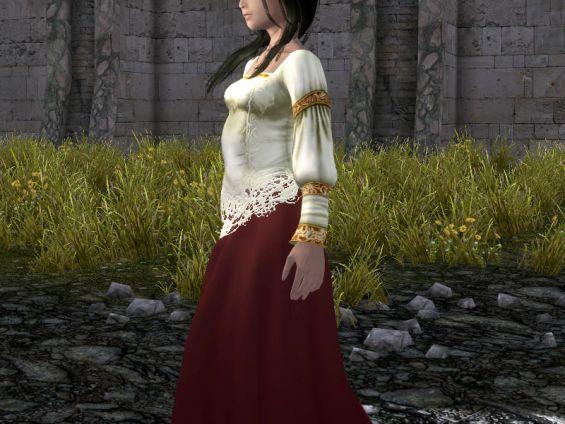 Skyrim Wedding Dress.Skyrim Wedding Dress Id