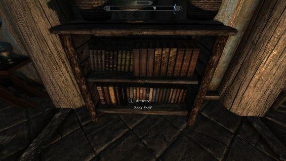 Bookshelves Updated SKSE Script Title