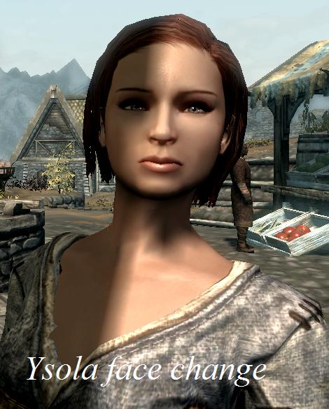 Ysolda Face change オーバーホール - Skyrim Mod データベース
