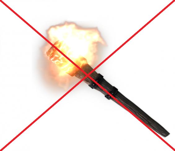 Guard Torch Remover - Reduced Light Flickering NPC - Skyrim
