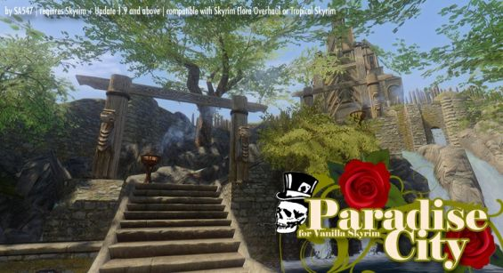paradise city for skyrim great trees for cities 都市 町 村