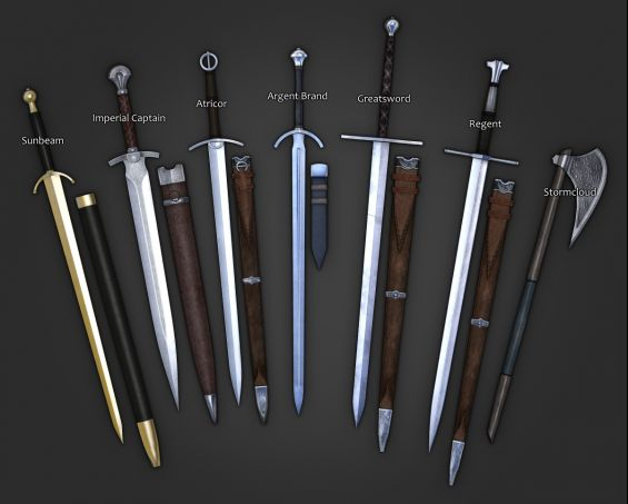 a month of internet deprivation weapon pack 武器 skyrim mod