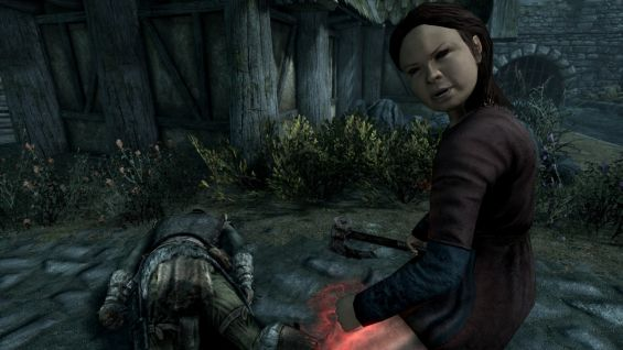 Killable Children NPC - Skyrim Special Edition Mod データベース MOD
