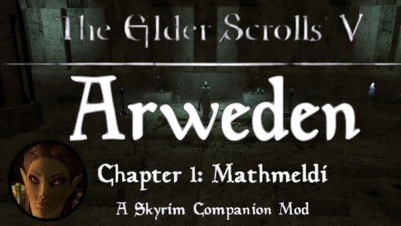 Arweden Custom Voiced High Elf Companion and Quest 日本語化