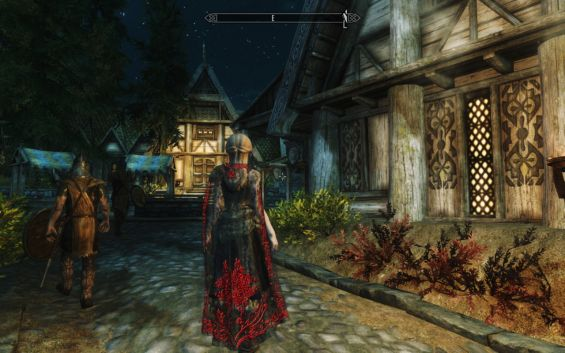 Cloaks Of Lace For Lady Sse 日本語化対応 服ローブ Skyrim Special